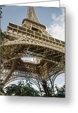 Paris: Eiffel Tower Greeting Card
