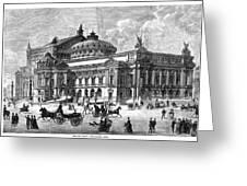 Paris Opera House, 1875 Greeting Card