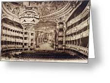 Paris Opera House Greeting Card