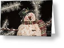 Partyin' Snowman Greeting Card