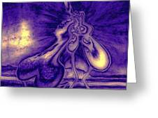 Passion In The Night Greeting Card
