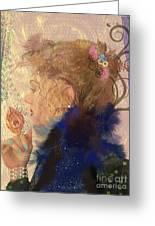Patricia Prays Greeting Card