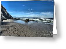 Patrick's Point Landscape Greeting Card by Adam Jewell