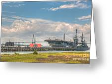 Patriots Point  Greeting Card
