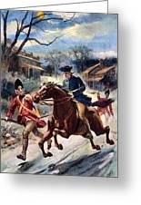 Paul Reveres Ride Greeting Card