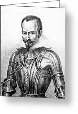 Pedro De Alvarado (1495?-1541) Greeting Card
