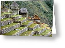 Peru: Machu Picchu Greeting Card