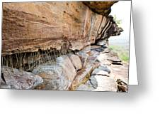 Pha Taem National Park In The Ubon Ratchathani Province Thailand Greeting Card