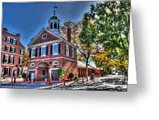 Philadelphia Head House  Greeting Card
