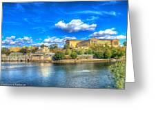 Philadelphia Water Works And Art Museum 1 Greeting Card