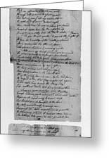 Phillis Wheatley (1753?-1784) Greeting Card