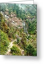 Photeng Waterfall Greeting Card