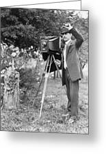 Photographer, C1911 Greeting Card