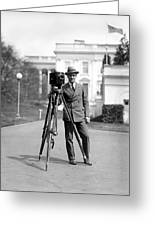 Photographer, C1915 Greeting Card