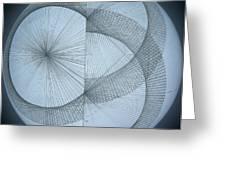 Photon Double Slit Test Greeting Card
