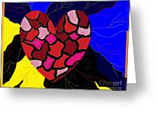 Pieces Of A Broken Heart Greeting Card