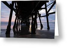 Pier In The Pacific Ocean, San Clemente Greeting Card