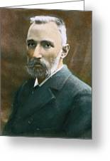Pierre Curie (1859-1906) Greeting Card