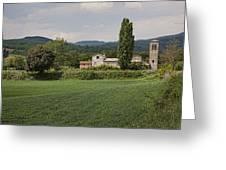 Pieve Di Santa Maria Alla Sovarra Greeting Card