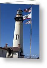 Pigeon Point Lighthouse Pescadero California Greeting Card