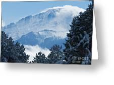 Pikes Peak Colorado Greeting Card