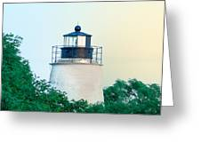 Piney Point Maryland Lighthouse Greeting Card