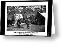 Pinkerton Man Greeting Card