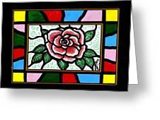 Pinkish Rose Greeting Card