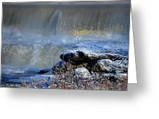 Pipe Creek Falls Greeting Card