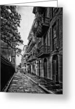 Pirate's Alley In New Orleans Greeting Card