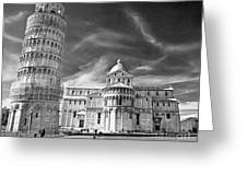 Pisa - The Leaning Tower Greeting Card
