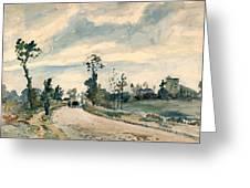 Pissarro Louveciennes Greeting Card