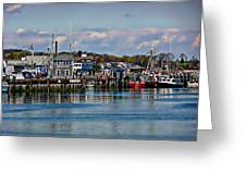 Plymouth Harbor Greeting Card