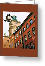 1 Pm In Stockholm Greeting Card