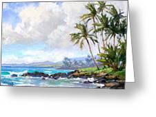 Poipu Beach #1 Greeting Card