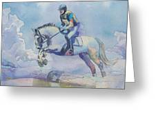 Polo Art Greeting Card