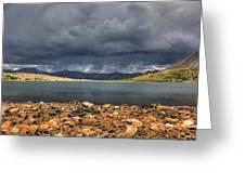 Pomeroy Lake Greeting Card