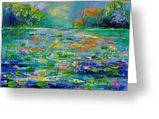 Pond 454190 Greeting Card