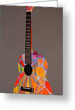 Pono Tenor Ukulele Greeting Card