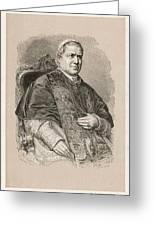 Pope Pius Ix (conde Giovanni Maria Greeting Card