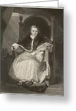 Pope Pius Vii (luigi Barnabo Greeting Card