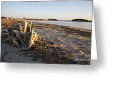 Popham Beach State Park - Phippsburg Maine Usa Greeting Card