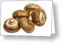 Portobello Mushrooms Greeting Card