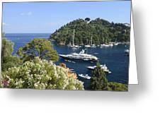 Portofino Coast Greeting Card