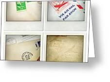 Postal Still Life Greeting Card