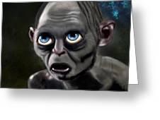 Precious Gollum Greeting Card