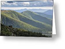 Presidential Range - White Mountains New Hampshire Greeting Card