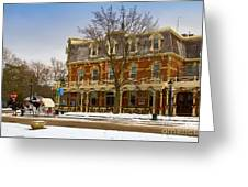 Prince Of Wales Hotel In Niagara On The Lake Greeting Card