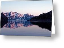 Prince William Sound Reflections Greeting Card