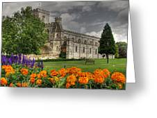 Priory Church Dunstable Greeting Card